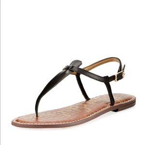 Sam Edelman Black Gigi leather sandal size 9